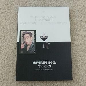Got7 official Spinning top album